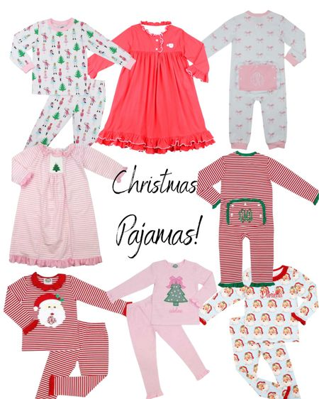 We have a rule on our house-everyone gets new pajamas for Christmas! Here are a few I love for our little one.  #LTKHoliday #LTKSeasonal #LTKkids