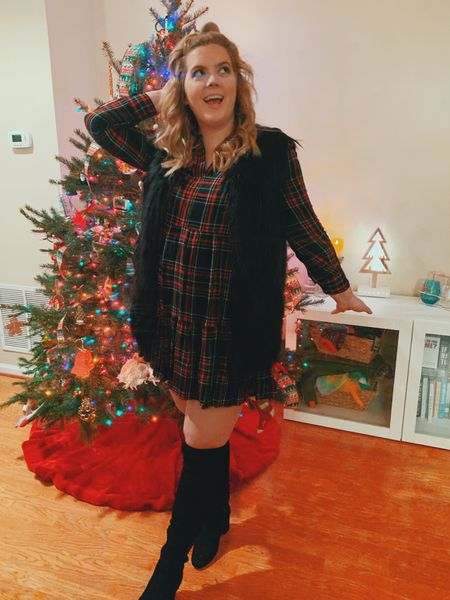 """When John says he's taking me on a date ☺️ this is my """"Babe tell me I look cute look 😂"""" http://liketk.it/2Ieqb #liketkit @liketoknow.it #LTKholidaystyle #LTKsalealert #LTKunder50 Download the LIKEtoKNOW.it shopping app to shop this pic via screenshot"""
