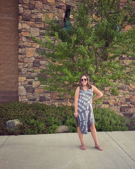Midi dress comes in so many colors and patterns. Some are on sale! Cotton and comfy. Perfect summer dress. True to size. http://liketk.it/3fPRr #liketkit @liketoknow.it #LTKsalealert #LTKstyletip #LTKunder100