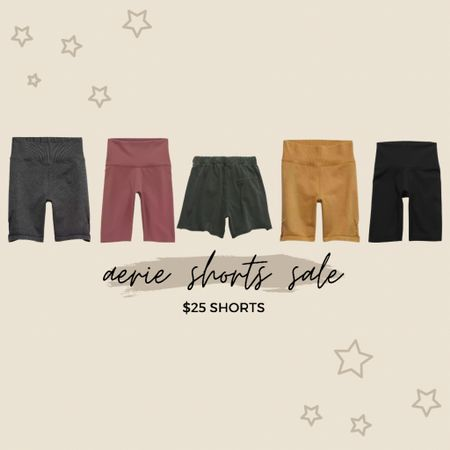 aerie biker short and sweat short sale!! all shorts shown are $25! run ladies; don't walk!! 🥰 #LTKsalealert #LTKunder50 #LTKfit http://liketk.it/3hQGA #liketkit @liketoknow.it Shop your screenshot of this pic with the LIKEtoKNOW.it shopping app