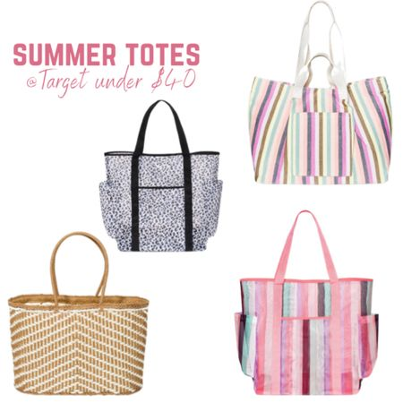 Summer totes / beach bags from @target from $10 to $40! #target #summer http://liketk.it/3f8MA #liketkit @liketoknow.it #LTKitbag #LTKstyletip #LTKunder50