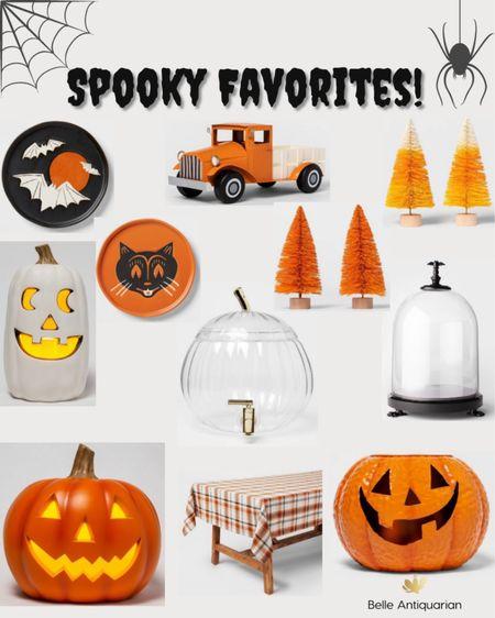 Spooky favorites at Target! Lots of vintage inspired items like the bottle brush trees, truck, and the little plates!   #LTKSeasonal #LTKfamily #LTKunder50