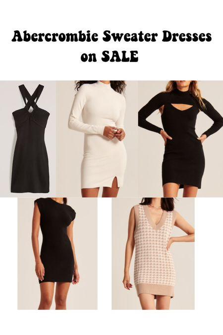 Abercrombie sweater dresses on sale!   #LTKsalealert #LTKSeasonal #LTKSale