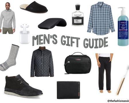 Men's Holiday and Christmas a Gift Guide!  Quip, Lululemon, Tumi, Peter Millar shirt and coat, Apple AirPods, iPad, Ugg slippers, Bombas socks, Kiehl's face wash, Creed Aventus   Shop your screenshot of this pic with the LIKEtoKNOW.it shopping app http://liketk.it/2GFio #liketkit @liketoknow.it #LTKholidaystyle #LTKtravel #LTKholidaygiftguide