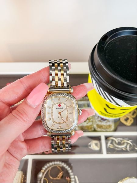 this years michele watch is super similar to the one I bought last year!  #LTKsalealert #LTKworkwear