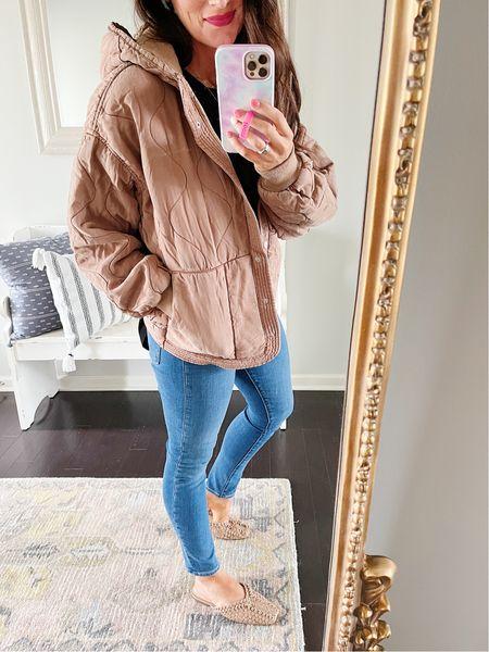 Size small jacket - runs oversized #nsale
