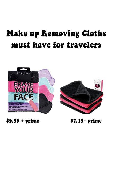 Make up removing cloths are a must have on vacation!   #LTKtravel #LTKbeauty #LTKsalealert
