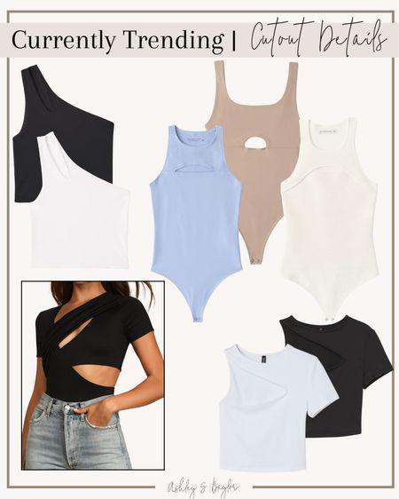 http://liketk.it/3im1I #liketkit @liketoknow.it #LTKstyletip #LTKsalealert #LTKunder50 cutout, cutout shirts, trending