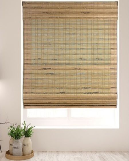 Tuscan bamboo Roman electric blinds!  Really reasonably priced and super cute http://liketk.it/3hYey #liketkit @liketoknow.it #LTKhome #LTKstyletip #LTKunder100 @liketoknow.it.home
