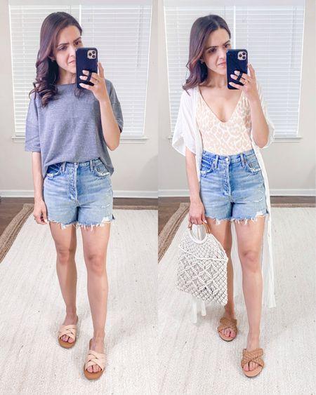 Agolde denim Dee shorts (tts) + style outfit idea http://liketk.it/3fMwp #liketkit @liketoknow.it #LTKstyletip