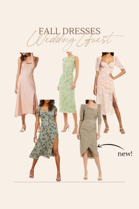 Fall wedding guest dresses!!  #LTKstyletip #LTKwedding #LTKSeasonal