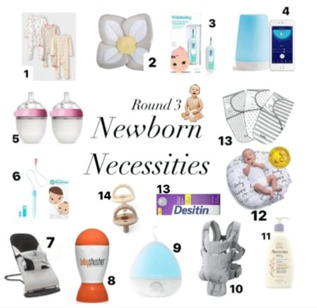 Round 3 newborn necessities! Our favorite tried & true baby items that baby girl will be using the first few months of life.   #LTKbump #LTKunder50 #LTKbaby
