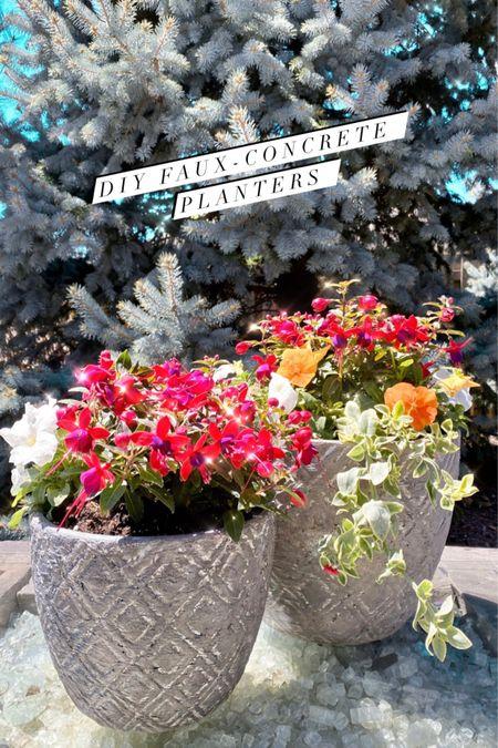 Summer planters! Home decor. Flowers. Spring home decor. Summer home decor.   #LTKSeasonal #LTKhome