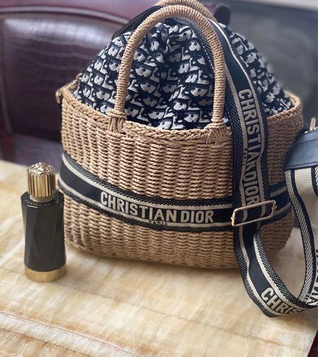 Designer Inspired Straw Tote Bag! 🤯 LESS THAN $50!   #LTKunder50 #LTKstyletip