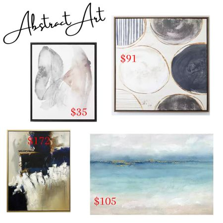 Abstract art that's perfect for the home!