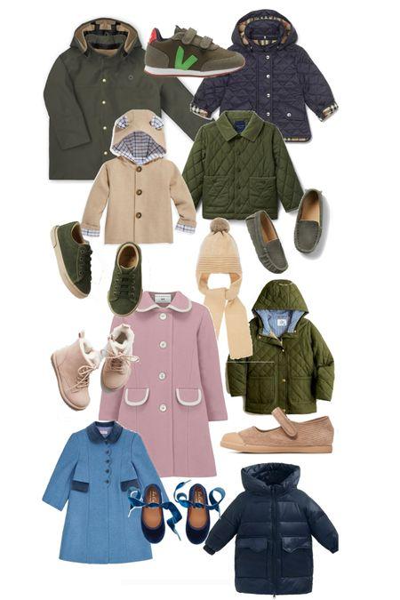 Coats and winter shoes for children!   #LTKkids #LTKfamily #LTKbacktoschool