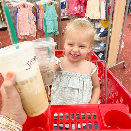Had the best #girlsdayout with my mini! Linked her top and some of the cute stuff we picked up on our Target trip today! http://liketk.it/3jZ8J #liketkit @liketoknow.it #girlgang #momandme #chocolatemilk #butfirstcoffee