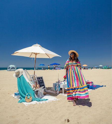 My favorite summer dress is on sale — wearing a size medium!