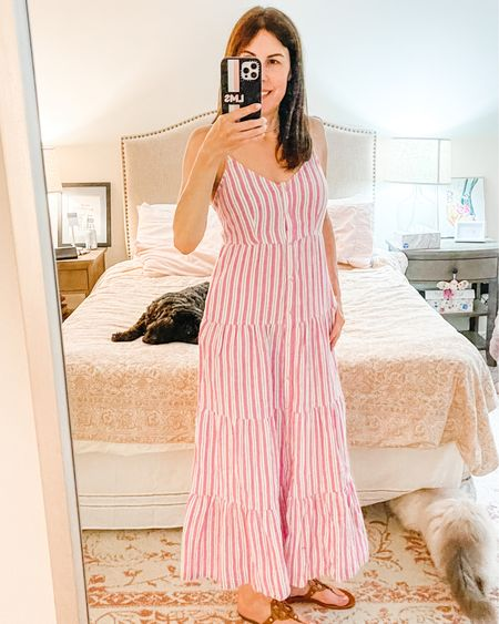 👗 My new favorite dress and it's only $25! I paired it with the #toryburchmillersandals.  👗 Download the LIKEtoKNOW.it shopping app to shop this pic via screenshot or click on the link in my bio!    #targetstyle #sharemytargetstyle #lynnmailey   http://liketk.it/3gnug #liketkit @liketoknow.it #LTKunder50 #LTKworkwear