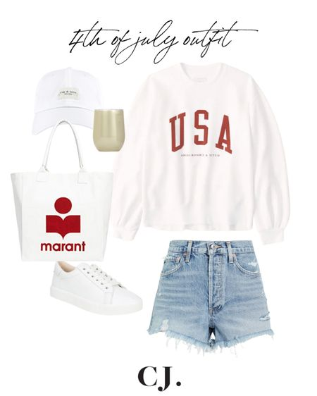 4th of July casual outfit!  #LTKSeasonal #LTKunder100