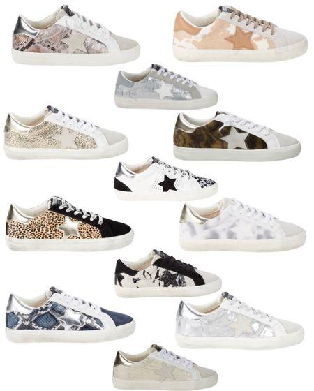 Sneakers golden goose dupe star sneakers   #LTKunder50 #LTKshoecrush #LTKsalealert