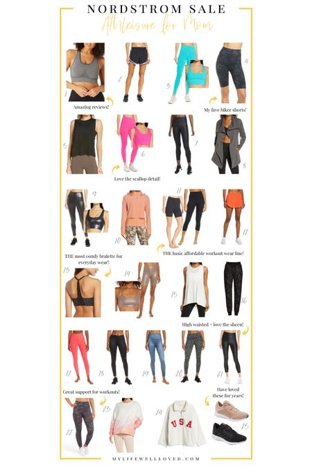 Nordstrom anniversary sale! Rounding up the best Activewear for women! Athleisure picks from the N sale are always my favorite! So many brands we love including Spanx, Sweaty Betty, Adidas, Nike & Zella are included! Shop your screenshot of this pic with the LIKEtoKNOW.it shopping app http://liketk.it/3jhjY #liketkit @liketoknow.it #LTKfit #LTKunder50 #LTKunder100