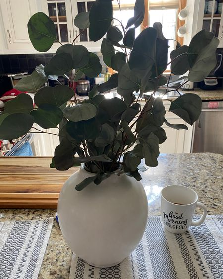 Thus artistan vase is perfect for all kinds of floral arrangements (real or fake!) I love it for my fresh eucalyptus! Also added bonus : eucalyptus has tons of health benefits. #liketkit #LTKunder50 #LTKhome #LTKsalealert @liketoknow.it @liketoknow.it.home http://liketk.it/3cJOf Shop your screenshot of this pic with the LIKEtoKNOW.it shopping app