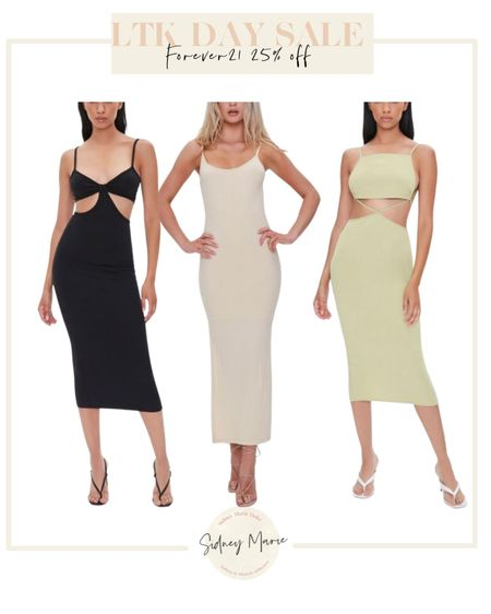 Forever 21 LTK day sale Cut out dress Trendy maxi midi dress Black dress Neutral dresses  Vacation outfits  Summer outfit   @liketoknow.it http://liketk.it/3hjqW #liketkit #LTKunder50 #LTKsalealert #LTKDay