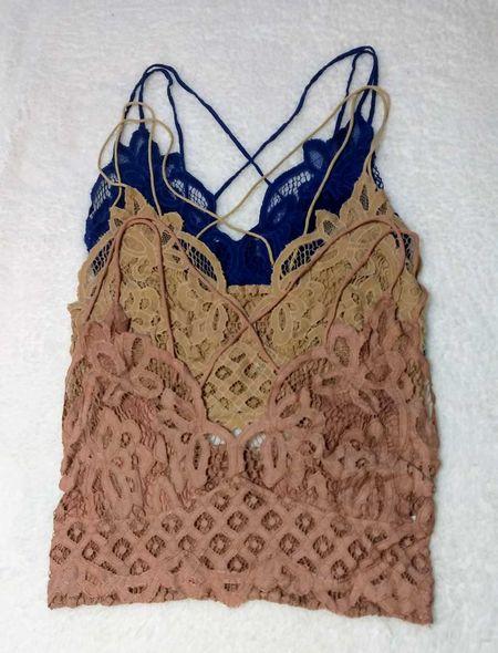 These bralettes are under $25 and perfect under camis and tanks.  #LTKsalealert #LTKstyletip #LTKunder50