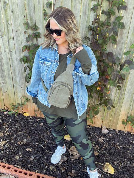 Jacket size xl Shirt size xl Leggings size large short Shoes tts  #LTKcurves #LTKunder50 #LTKstyletip