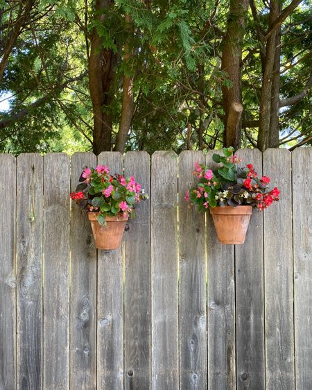 These pot latches are such a simple and fun way to add some uniqueness to your fence and outdoor space!  http://liketk.it/2UDcr #liketkit @liketoknow.it