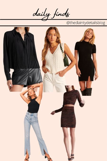 Daily finds: fall outfits, sweater vest, sweater dress, jeans, denim, work outfits, matching set, teacher outfits, back to school   #LTKunder100 #LTKSeasonal #LTKbacktoschool