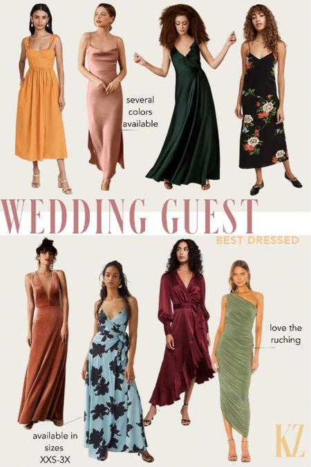 Wedding Guest Dress Options - Size Inclusive Formal Occassion Dresses  #LTKcurves #LTKwedding #LTKstyletip