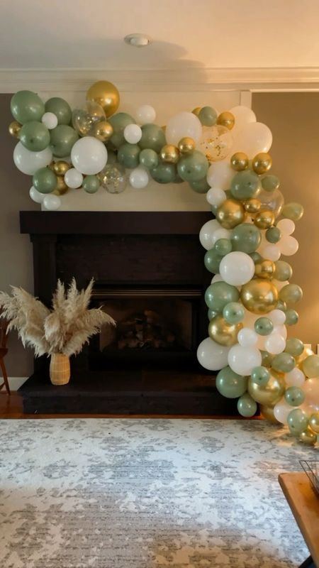 The best party DIY are balloon garland! Big impact. We made this one for a bridal shower we hosted. Make sure to buy the electric pump!!  #balloonarch #ltkunder50 #ltkseasonal   #LTKhome #LTKHoliday #LTKfamily