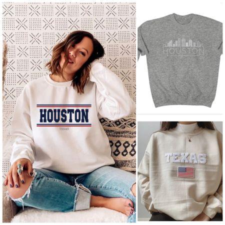 Sweatshirt Houston Fall Outfits Fall Family Photos Front Porch Decor  Fall Home DecorHome FurnishingsHalloween