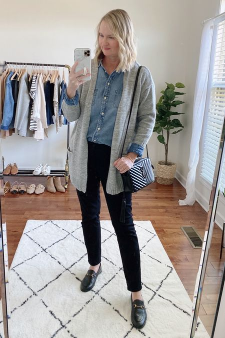 It's cardigan weather! Happy weekend!  Shop this post on the@shop.ltkapp and follow @classyyettrendy on the app! Everything is also linked here ➡️ https://classyyettrendy.com/instagram-shop/  #capsulewardrobe#smartcasual#whatiamwearing#effortlessstyle#effortlesschic#dailyoutfit#outfitstyle#mystyle#minimaliststyle#elegantstyle#mystylediary#outfitinspirations#dailyfashion#realoutfitgram#wiwtoday#howtostyle#howtowear#parisianstyle#parisiennestyle#parisianchic#simplestyle#simplelook#neutralstyle#neutralaboutit#classicoutfit #classicstyle    #LTKstyletip #LTKunder100 #LTKunder50