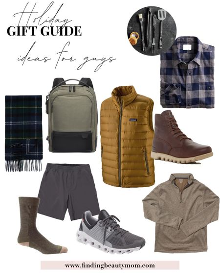 Holiday gift guide, gifts for guys, husband gift, brother gift, men's vest, Christmas gifts,   #LTKGiftGuide #LTKmens