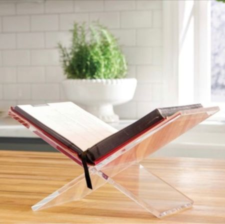 Love this acrylic book easel and it's currently on sale for 20.% off   #LTKhome #LTKunder50 #LTKstyletip