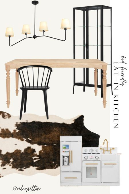 Kid-friendly eat in kitchen. Plans for updating my modern farmhouse breakfast nook. No longer have a dining room so this functions as both! http://liketk.it/3k4d9 #liketkit @liketoknow.it   #LTKbaby #LTKfamily #LTKhome
