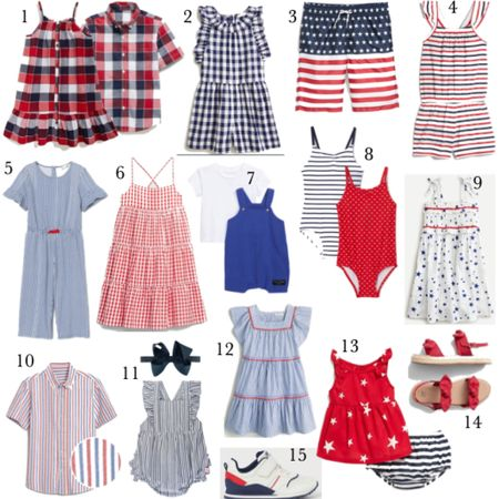 4th of July outfits for kids and baby 🇺🇸❤️ http://liketk.it/2QYHm #liketkit @liketoknow.it #LTKbaby #LTKkids #LTKunder50 @liketoknow.it.family