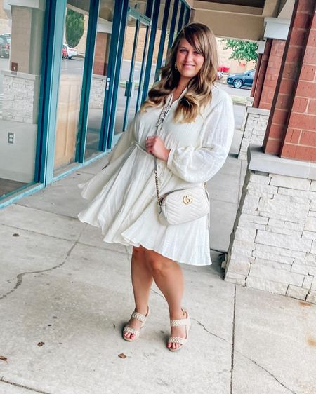 This is one of the nicest quality dresses I have ever purchased from H&M! Size down one! http://liketk.it/3jBhO #liketkit @liketoknow.it #LTKunder50 #LTKstyletip #LTKwedding