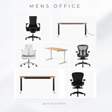 Men's office chairs and desk   #LTKhome #LTKstyletip #LTKmens