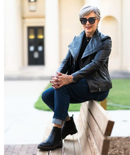 The iconic and classic moto jacket @nordstrom #nordstrom  #LTKstyletip