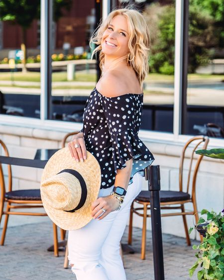 I'm definitely getting ready for warmer spring vibes heading our way... and this off the shoulder top is a dress up dress down kinda top! http://liketk.it/3cYLe #liketkit @liketoknow.it Shop your screenshot of this pic with the LIKEtoKNOW.it shopping app #LTKunder100 #LTKstyletip #LTKunder50  . . . . . . . . .  #ootdshare #bloggerbabe #bloggerstyle #realoutfitgram #mamaswithstyle #realmomstyle #getthelook #styleinspo #michiganblogger #whatiwore #aboutalook #rewardstyleblogger #pursuepretty #affordablefashion #outfitinspo #stylecrush #outfitgoals #basic #springstyle #whitejeans #offtheshoulder