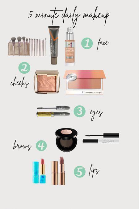 Daily 5 minute makeup routine!   http://liketk.it/376M3 #liketkit @liketoknow.it