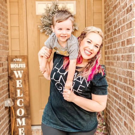 Love this fun Human Jungle Gym tee from Declan + Crew! If you're looking for a good mom tee, I love theirs. Plus, can't go wrong with a good acid washed tee! http://liketk.it/34LHm #liketkit @liketoknow.it