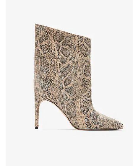 Faux Snakeskin Boots http://liketk.it/341Lf #liketkit @liketoknow.it