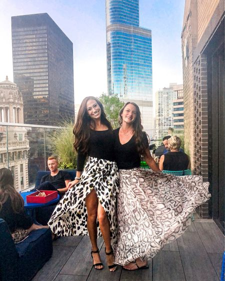 Enjoying these final summer like evenings while we have them with @lizHOlly 💯 This rooftop has such great views in the heart of the city 💕 Wearing the cutest snakeskin skirt gifted from @chicwish! 🖤 I'm so here for this trend🔥   You can shop my look two ways: 📸 Download the LIKEtoKNOW.it app to shop this pic via screenshot 🛍 Follow me on the LIKEtoKNOW.it app to get the product details! http://liketk.it/2Feqr #liketkit @liketoknow.it #LTKunder100 #LTKstyletip #LTKunder50