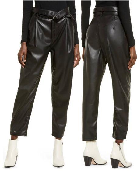 Nordstrom Sale Leather Pants http://liketk.it/3k2CR #liketkit @liketoknow.it #LTKunder50 #LTKunder100 #LTKstyletip