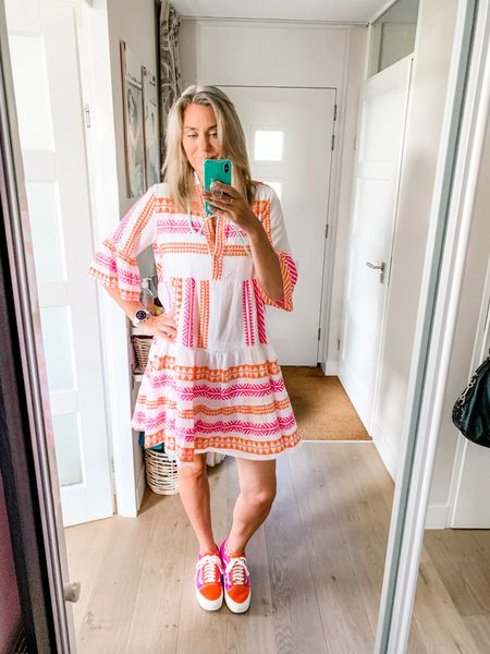 Finally found a short kelim dress that's actually long enough for tall girls. One size and would generously fit up to an xl in my opinion.    #LTKshoecrush #LTKstyletip #LTKeurope